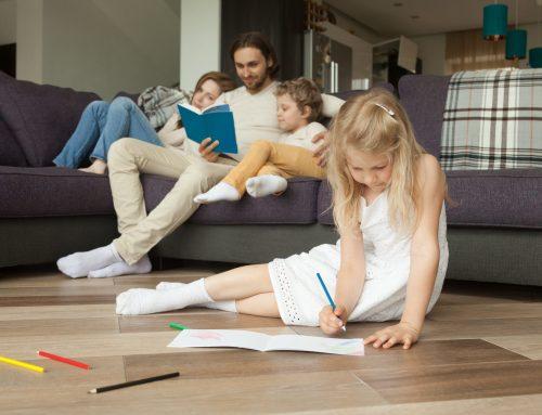 ¡10 juegos para hacer en casa con los niños!