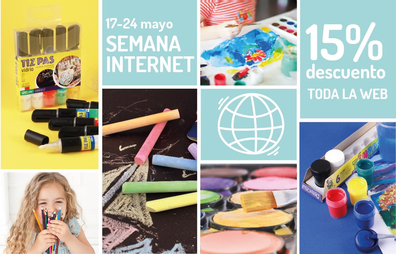 Promoción Semana Internet mayo 2020 WEB y SHOP